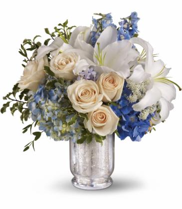 Seaside Centerpiece All-around Floral arrangement