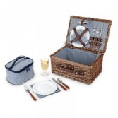SEASIDE NEWPORT WICKER PICNIC SET