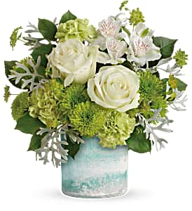 Seaside Roses Teleflora in Springfield, IL | FLOWERS BY MARY LOU