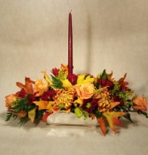 Season for Thanks Fresh Flower Centerpiece