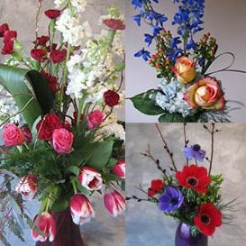 Season  of Flowers 3 Delivery Subscription in Ithaca, NY | BUSINESS IS BLOOMING