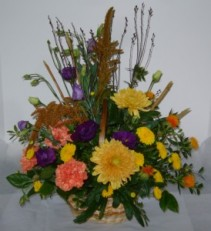 SEASONAL BASKET Fresh arrangement