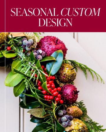 Seasonal Custom Design Flower Arrangement