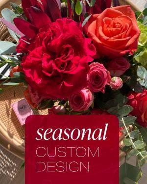 Seasonal Custom Design Flower Arrangement in Du Bois, PA | BRADY STREET FLORIST