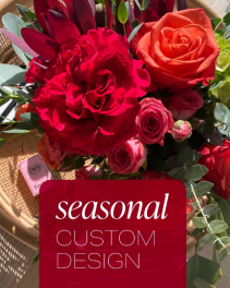 Seasonal Custom Design Flower Arrangement