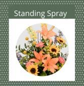 Seasonal-Fall Standing Spray