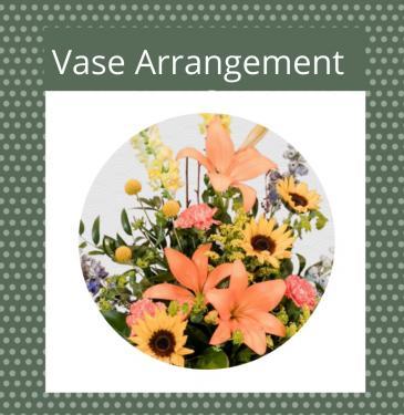 Seasonal Fall Vase