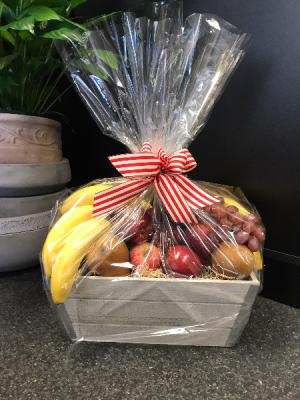 Seasonal Fruit Basket Everyday in Santa Barbara, CA   Alpha Floral