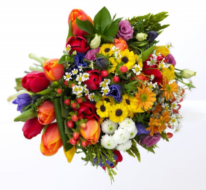 Seasonal Garden  Hand-Tied Bouquet in Chatham, NJ | SUNNYWOODS FLORIST