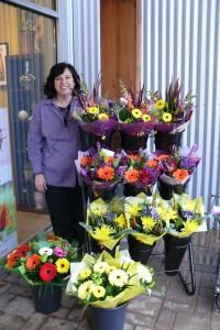 Seasonal hand tied bouquet Cut flowers - no vase in Delta, BC | FLOWERS BEAUTIFUL