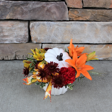 Seasonal Harvest Thanksgiving Flowers