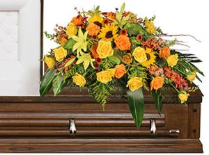 SEASONAL REFLECTIONS Funeral Flowers in Solana Beach, CA | DEL MAR FLOWER CO