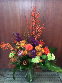 Seasonal Sensations Vase Arrangement