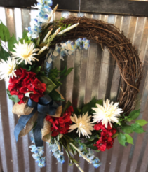 Seasonal wrealth Wreath