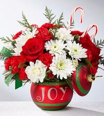 Season's greetings arrangement