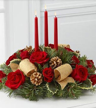 Seasons Greetings Centerpiece Centerpiece