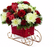 Season's Sleigh Ride Bouquet