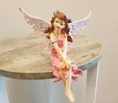 Seated Fairy Figurine