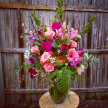 Secret garden Fresh flowers