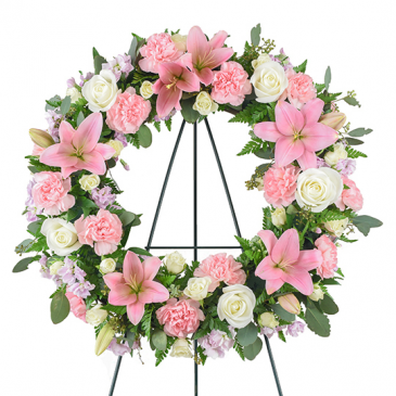 Secret Garden Sympathy Wreath
