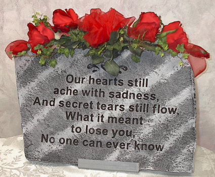 Secret tears Large stepping stone
