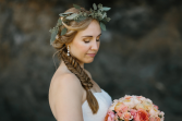 Seeded Eucalyptus crown Floral Crown