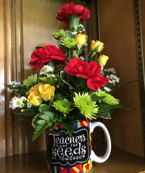 Seeds Of Tomorrow Back To School Mug in Saint Louis, MO | SOUTHERN FLORAL SHOP