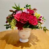 Selfie Spring Vase Flower Arrangement