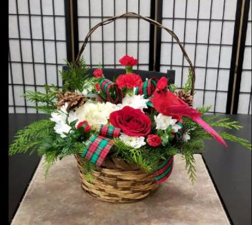 Send a Cardinal  All around Bouquet
