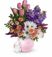 Send a Hug Bunny Love Bouquet PM