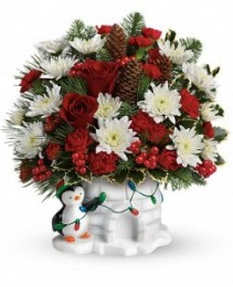 Send a Hug Christmas Cutie  All-Around Arrangement - T14X510B