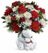 SEND A HUG CUDDLE BEARS CHRISTMAS
