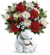 Send A Hug Cuddle Bears Vasef Arrangement