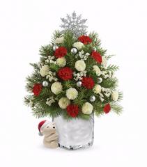 Send a Hug Cuddly Christmas Tree
