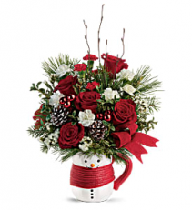 Send a Hug Festive Friend T19X505B Bouquet