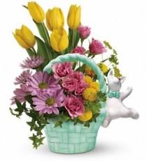 Send a Hug Funny Bunny Bouquet