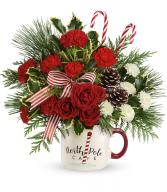 Send a Hug North Pole Cafe Mug by Teleflora Only 12 left!