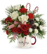 Send A Hug North Pole Cafe Mug T20X500-B