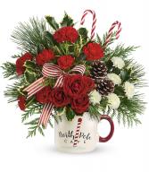 Send a Hug North Pole Cafe Mug   2020 T20X500A