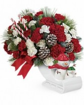 Send a Hug® Open Sleigh Ride by Teleflora Hoilday