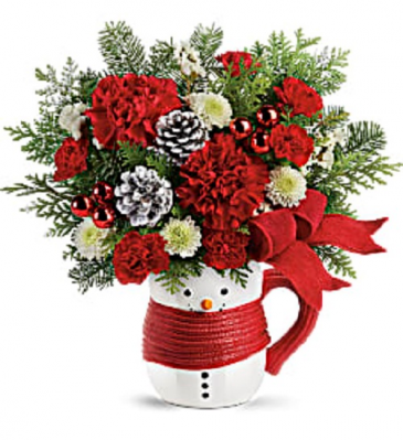 Send a Hug Snowman Mug Fresh Keepsake