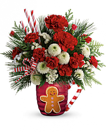 Send A Hug® Winter Sips Bouquet Arrangement