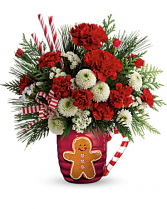 Send A Hug Winter Sips Bouquet by Teleflora Christmas