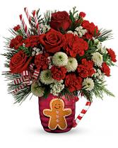 Send A Hug® Winter Sips Bouquet by Teleflora Christmas
