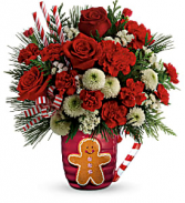 Send A Hug Winter Sips T18X500B Bouquet