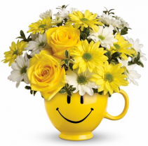 Send a Smile Floral Arrangement