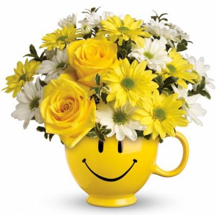 Send a Smile Floral Arrangement