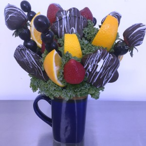 Send-A-Snack Perfect One Serving Snack!  Please give us 24 hr notice in Springfield, IL | FLOWERS BY MARY LOU INC