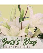 Send Boss's Day Florals Designer's Choice