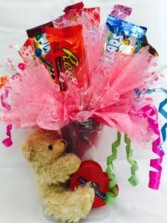 Send Mom a Hug Candy Bouquet